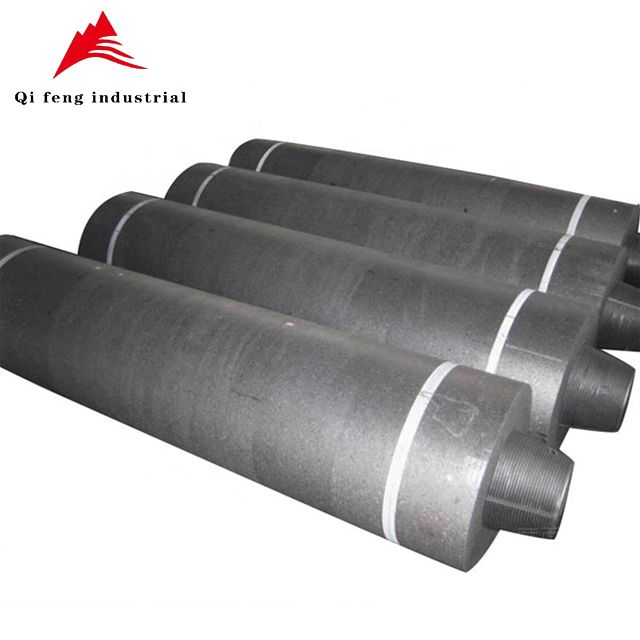 For steel plant China manufacture UHP graphite electrodes