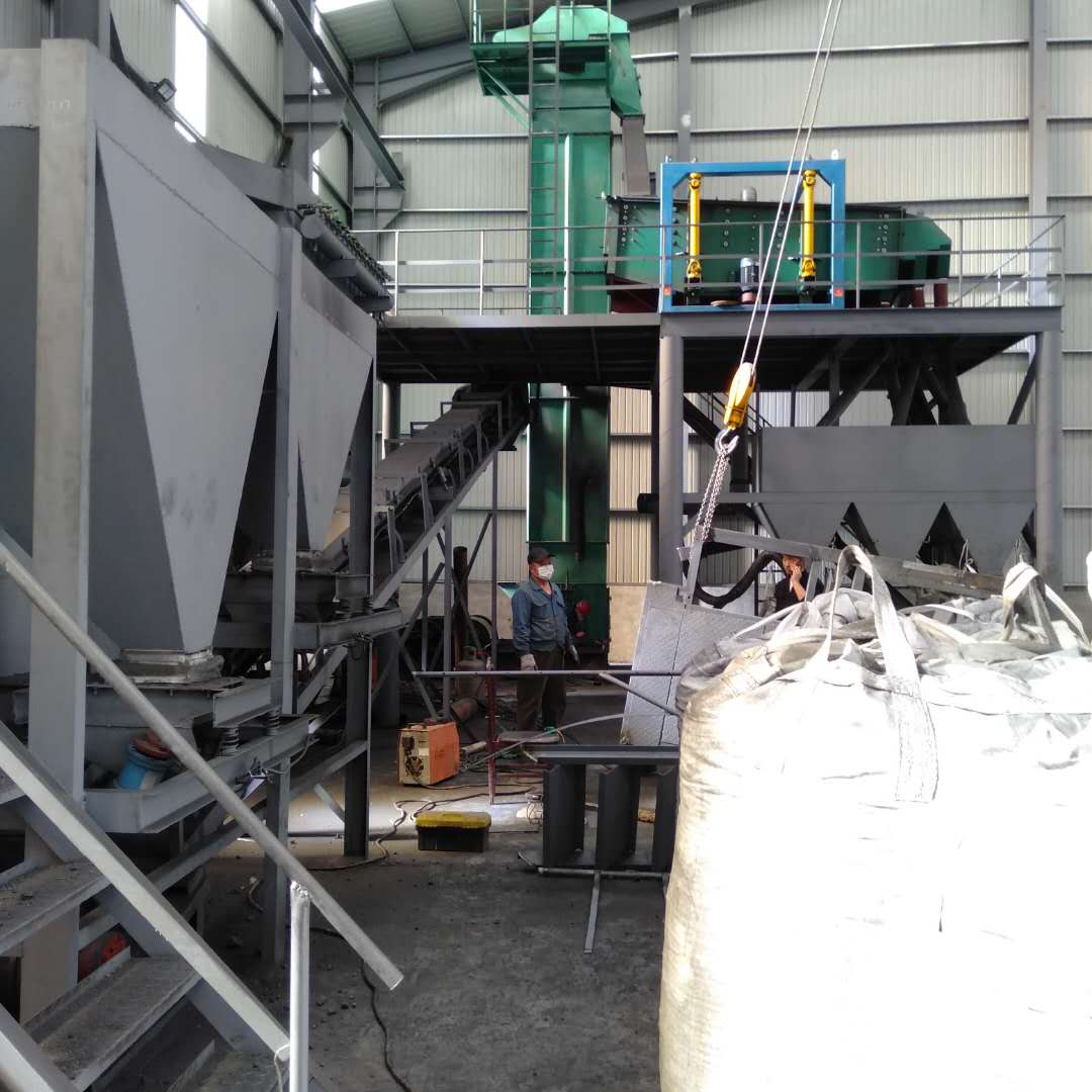 At the end of 2019 Purchase the modern crusher and screening equipment